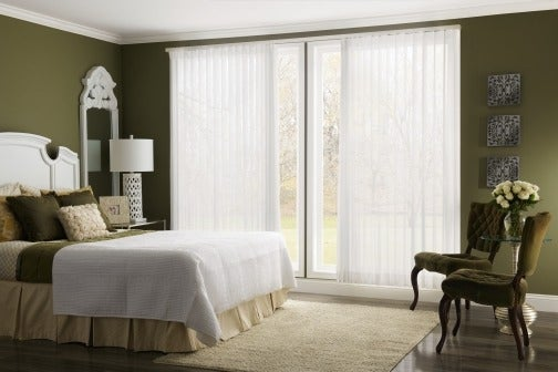 Graber-Vertical-Sheer-Shades-Canada - ZebraBlinds.ca