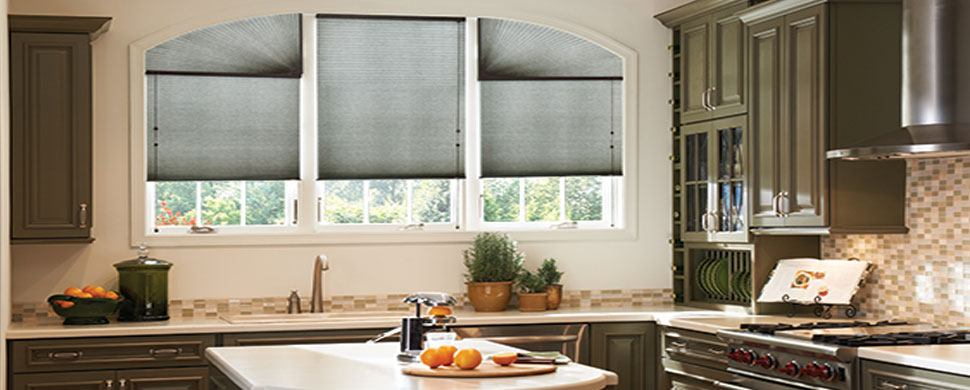 How to shade your enormous cathedral windows for Motorized shades for arched windows