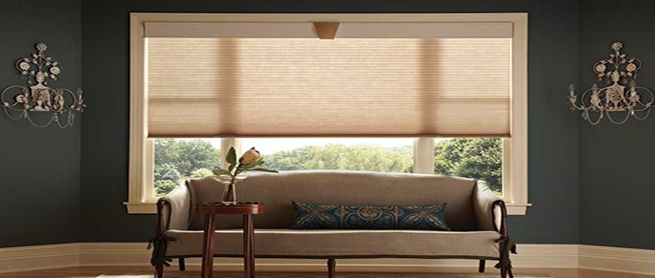 Window treatments for corner and bay windows for Bay window shades and blinds