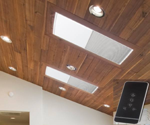 Motorized -SkyLight -Single -Cellular- Shade-Canada - ZebraBlinds.ca