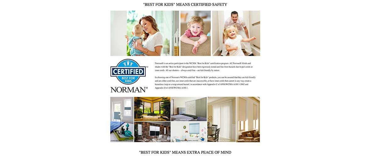Best-for-kids-Norman-cellular-shades-Canada - ZebraBlinds.ca
