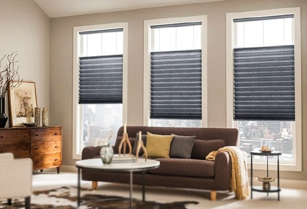 top down bottom up Pleated shades