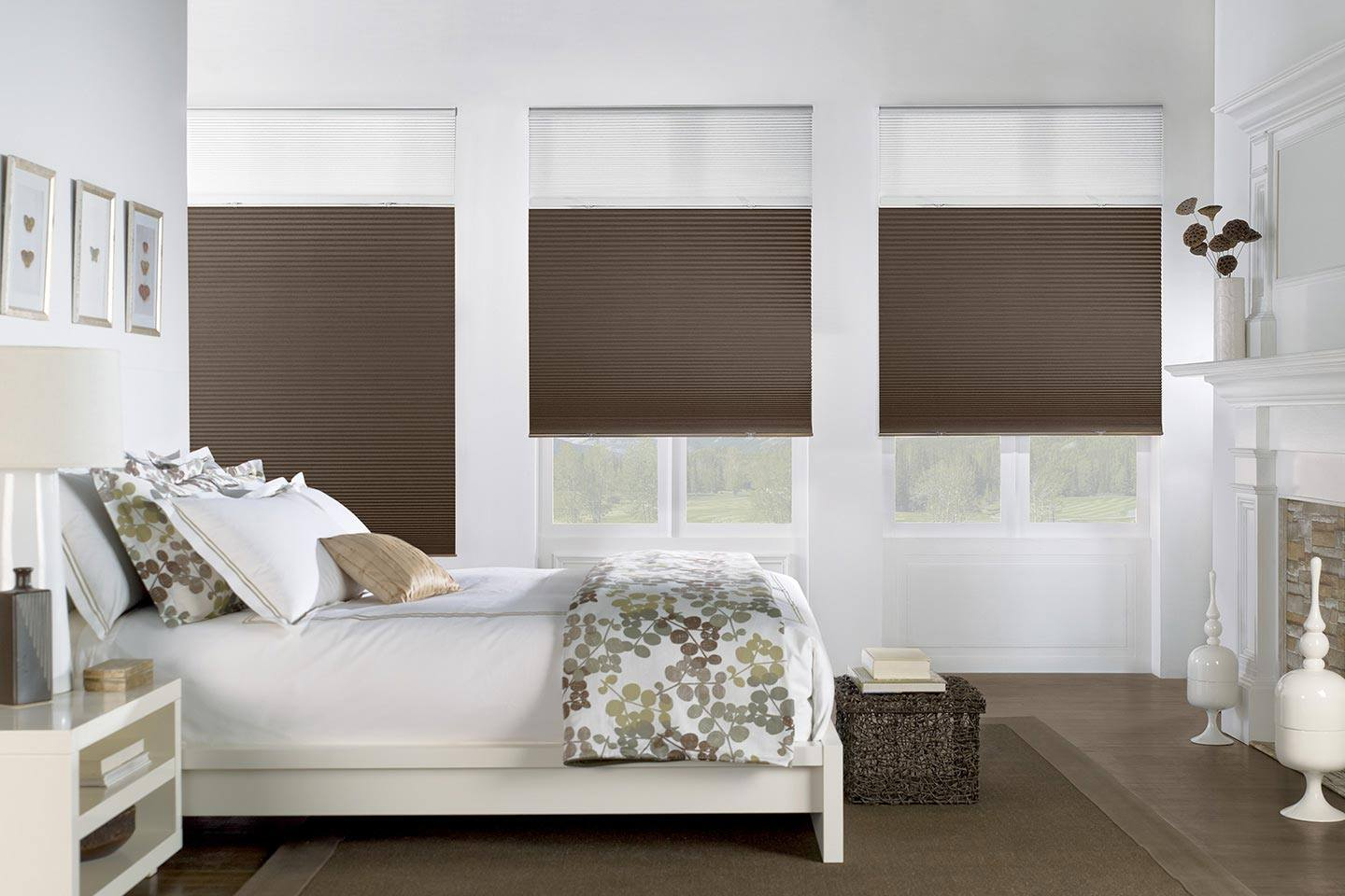Cordless Cellular Shades Zebrablinds.ca