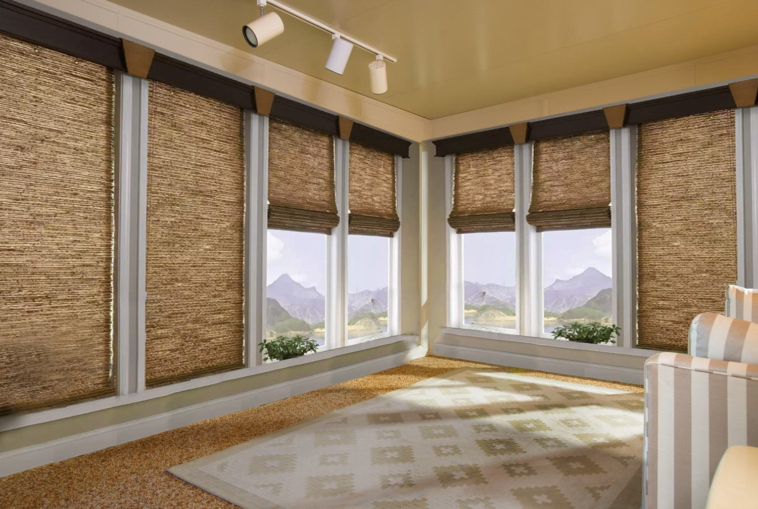 Four Season Sunroom Shades and Blinds  ZebraBlinds Canada