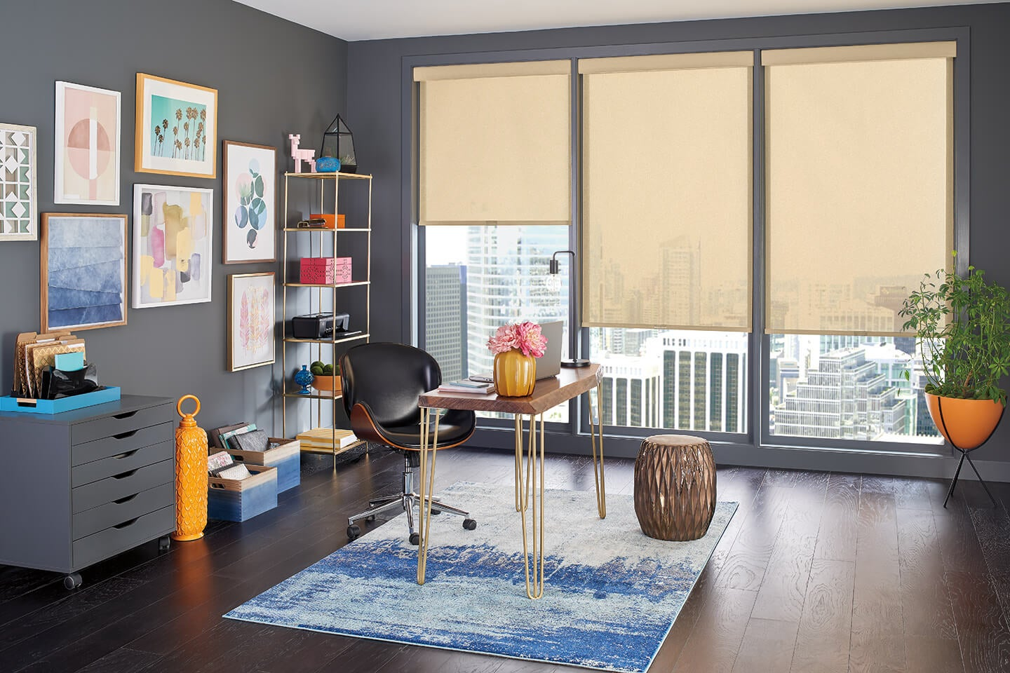 Solar Shades for Home offices