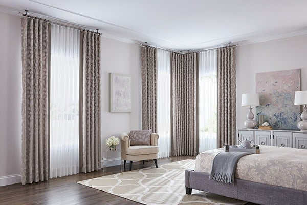 Hang Curtains Over Vertical Blinds