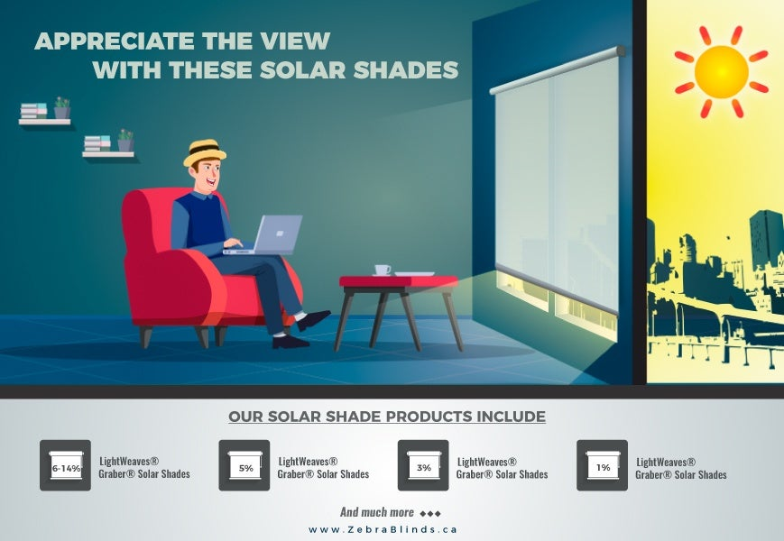 Appreciate The View With Solar Shades