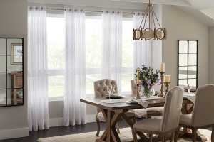 Curtains For Large Windows Mansion