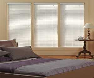 Faux wood Blinds For Small Space