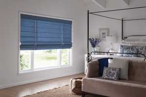 Beautiful-Roman-Shades-For-Christmas-Festival - Zebrablinds.ca