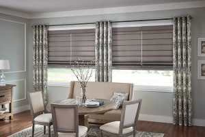 Decorate-Your-Room-With-Roman-Shades - Zebrablinds.ca
