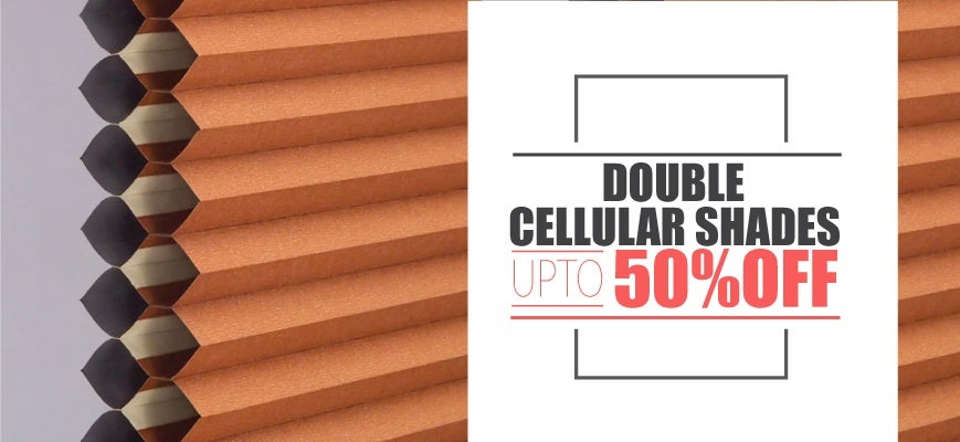 Double Thermal Cellular Shades