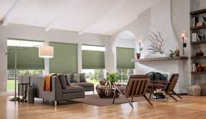 Cordless-Cellular-Shades-For-Winter - Zebrablinds.ca