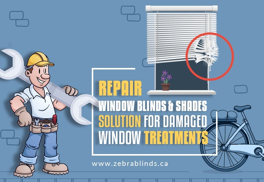 Repair Window Blinds and Shades