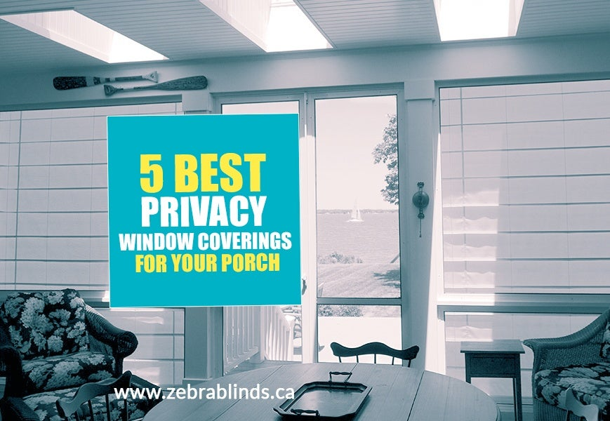 Privacy Window Coverings
