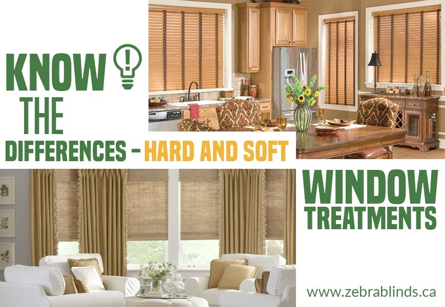 Hard and Soft Window Treatments