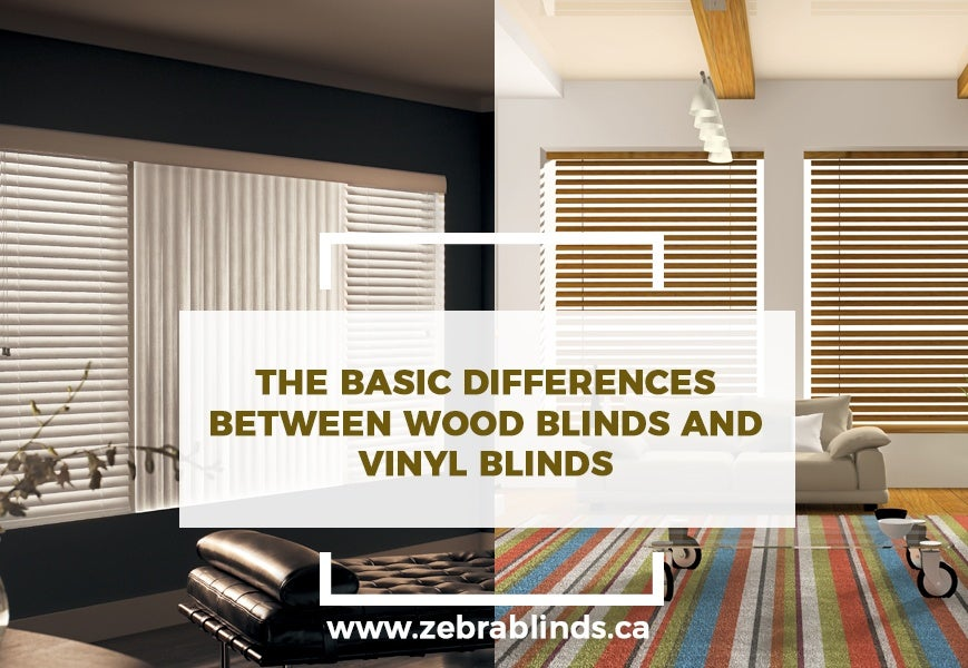 Difference Between Wood Blinds and Vinyl Blinds