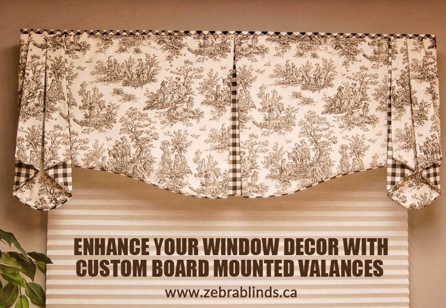Custom Board Mounted Valances