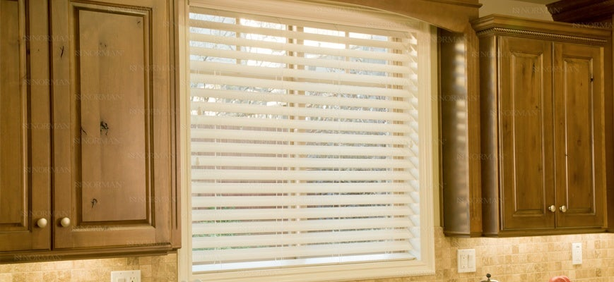 Real Wood SmartPrivacy Blinds