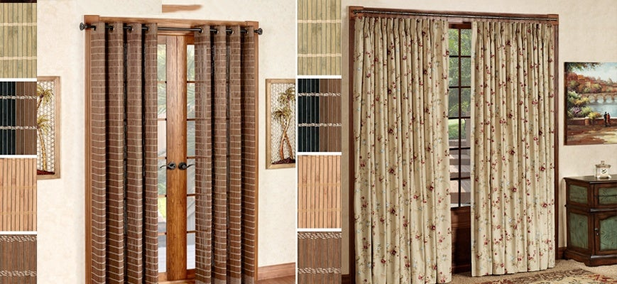 Window Curtains for French Door