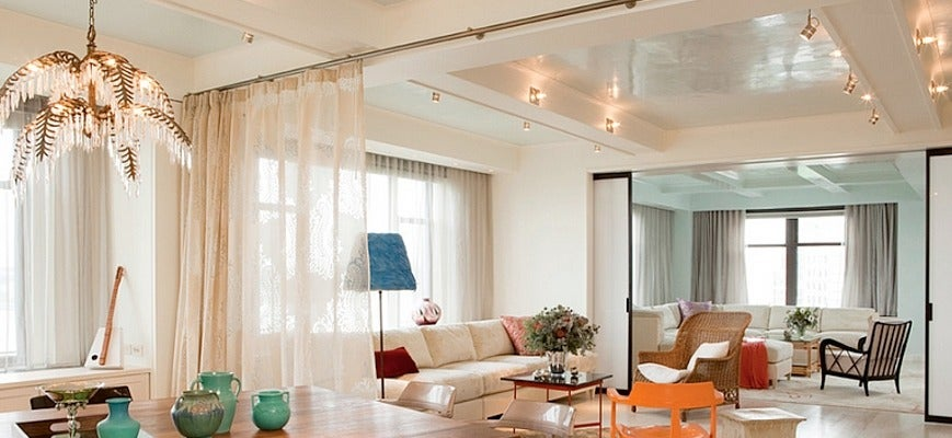 Window Curtain Ideas To Highlight Your Open Floor Plan Home