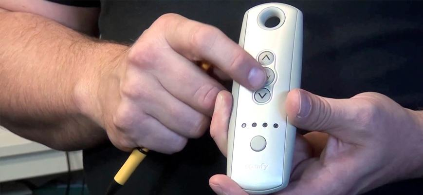 Remote for Motorized Shades