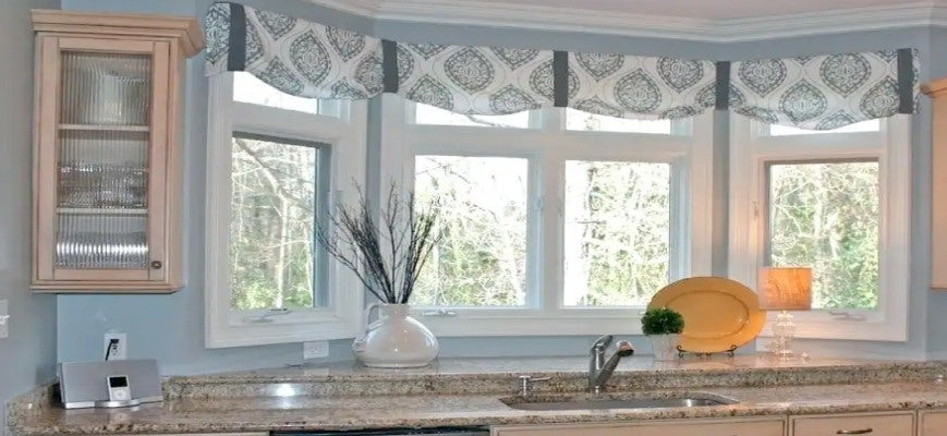 Blinds for Kitchen Bay Windows