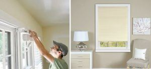 Install Cordless Pleated Window Shades