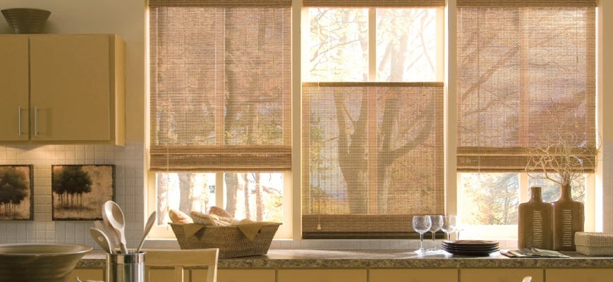 Nature Friendly Wood Blinds