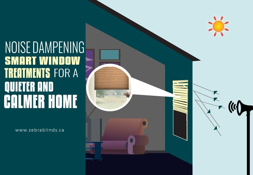 Noise Cancelling Smart Window Treatments
