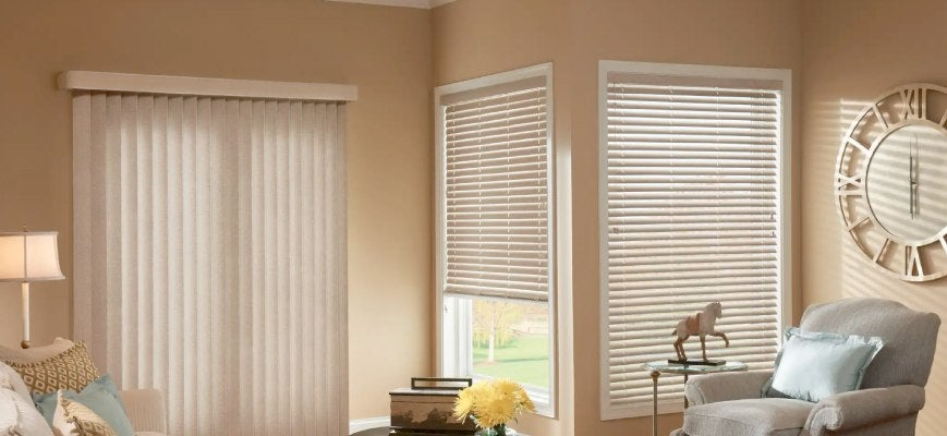 Outside Mounting Vertical Blinds