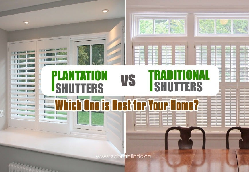 Plantation Shutters Or Traditional Shutters Which Is Best For Your Home