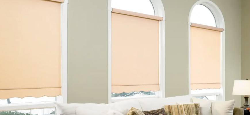 Roller Shades for Arched Windows