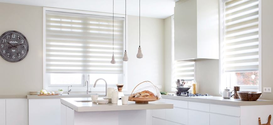 Sheer Shades for Kitchen