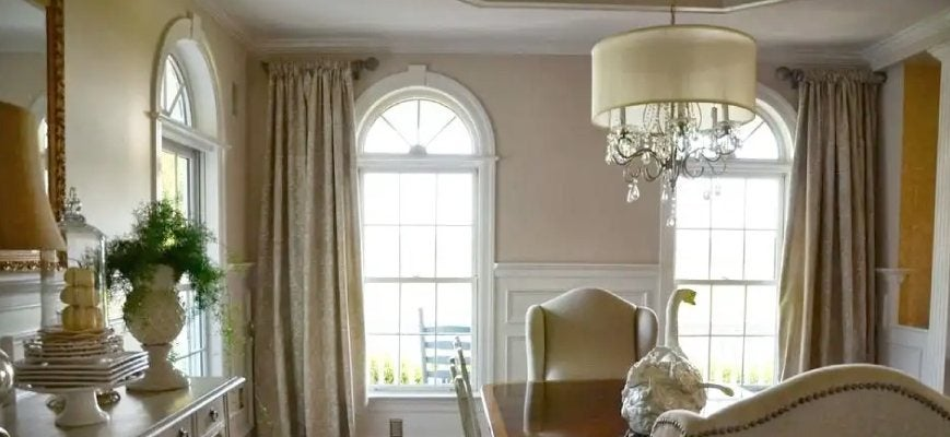 Window Curtains for Arched Windows