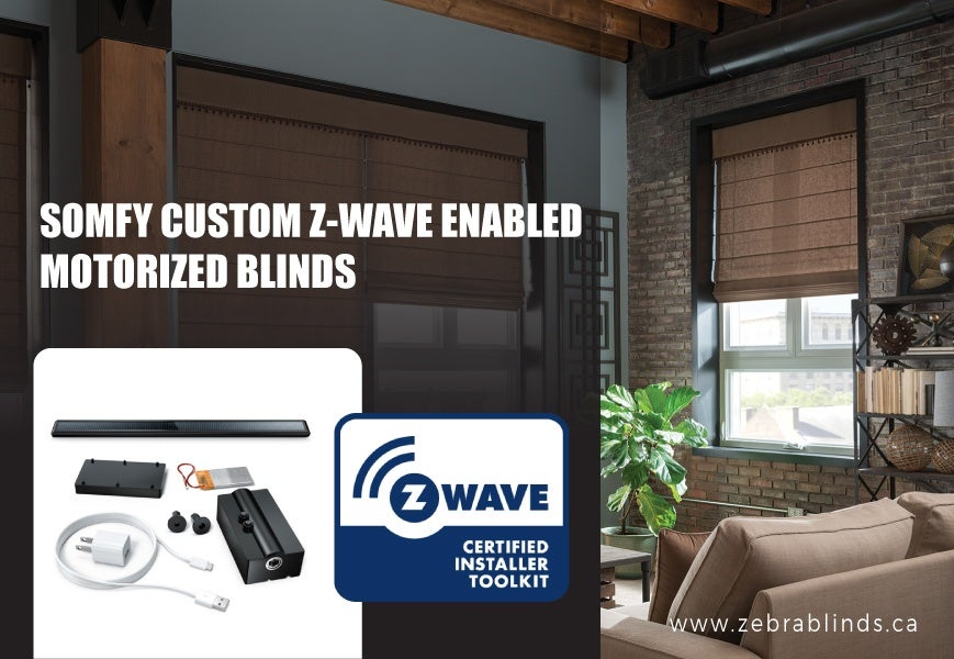 Custom Z Wave Motorized Blinds A Sought After Window