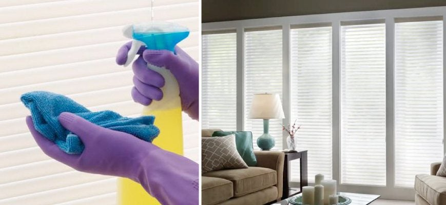 Easy Cleaning of Sheer Shades