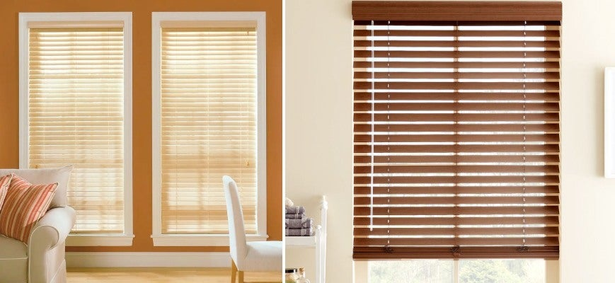 Vinyl Blinds Vs Wood Blinds