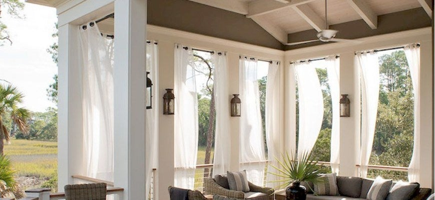 Curtains for Outdoor Space
