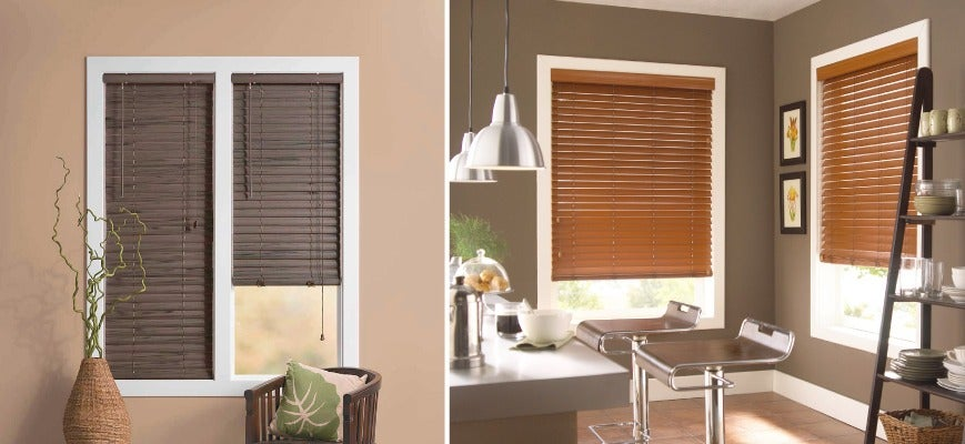 Low Cost Faux Wood Blinds