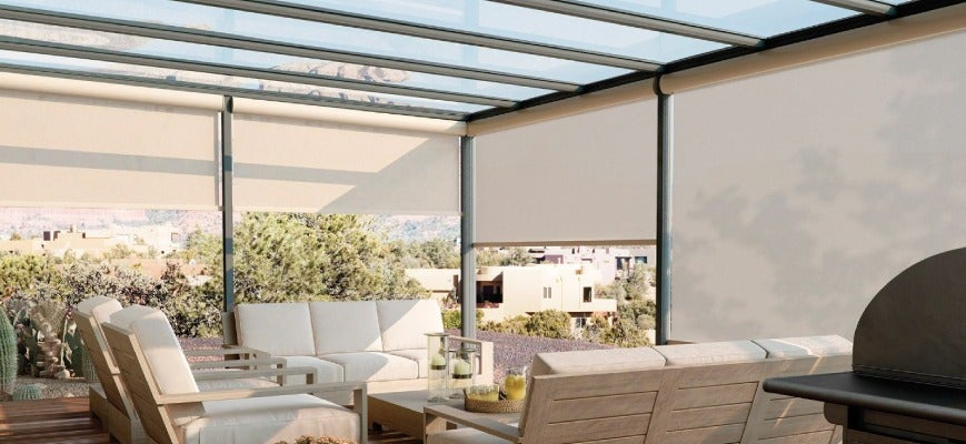Solar shades vs blackout shades which one is best for - Interior vs exterior solar screens ...