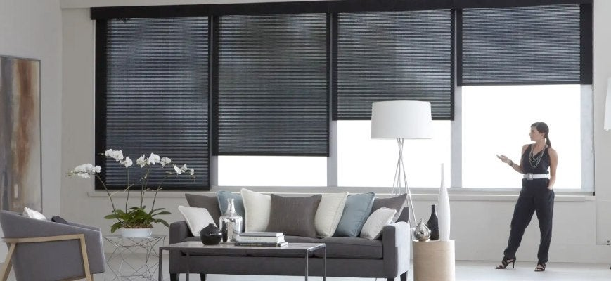 Smart Home Automation Window Blinds