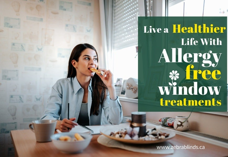 Allergy-Free Window Blinds and Shades