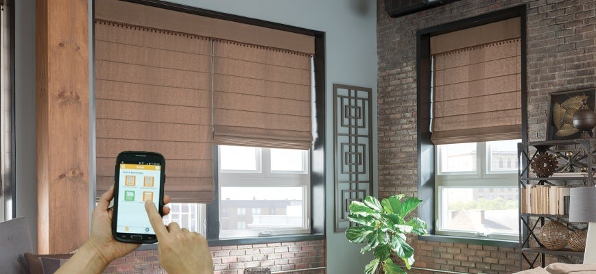 Smart Motorized Blinds And Shades Protect Home From