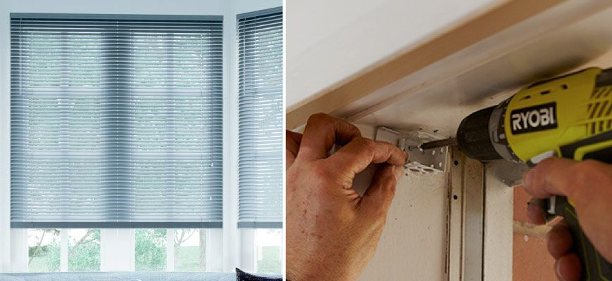 Installing Mini Blinds