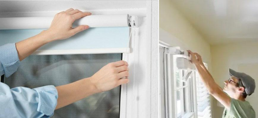 Installing Smart Window Blinds Shades