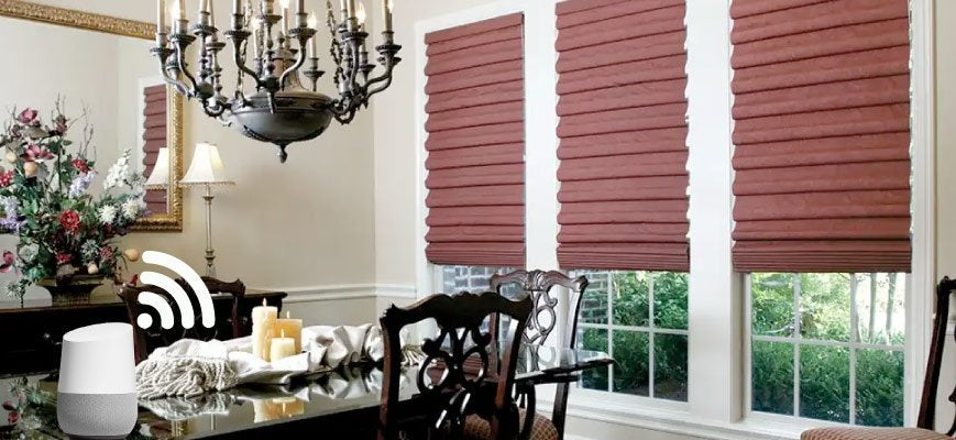 Custom Fabric Roman Shades To Style Your Home Your Way