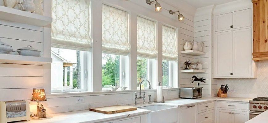 Roman Shades For Kitchen Zebrablinds Ca Window