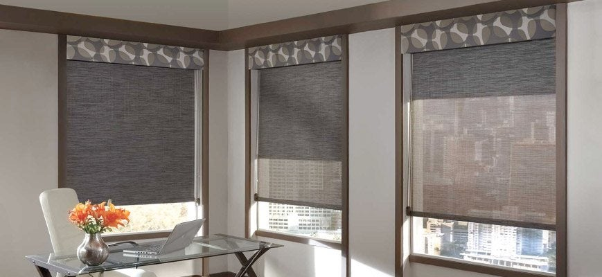 Blackout Dual Roller Shades