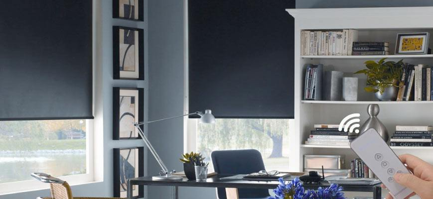 Electric Blackout Blinds